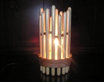 Lamp Bedside Wooden