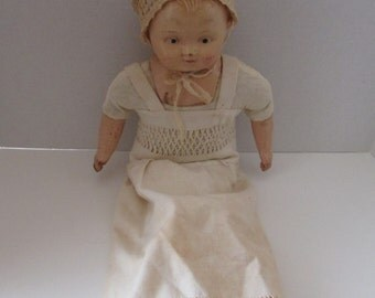 Vintage Effanbee Doll Composition Cloth Compo Doll Nice Clothes