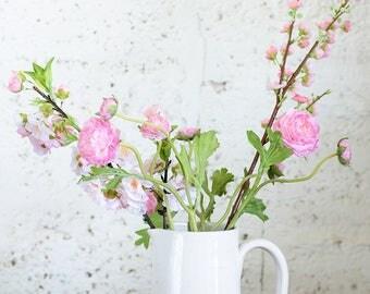 Ceramic Vase, White Ceramic Vase, White Flower Pot, Pottery Vase, White Ceramic Carafe, Ceramic Carafe. Housewarming Gift