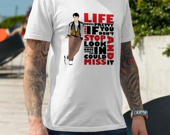 Life Moves Pretty Fast - Mens T-Shirt