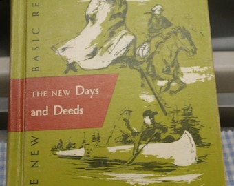 New Days & Deeds 5-1 New Basic Reader 1955 Edition