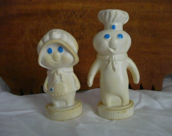 Pillsbury Poppin' Fresh and Poppie Salt and Pepper Set
