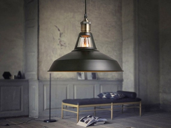 lustre industriel clair pendentif loft industriel vintage. Black Bedroom Furniture Sets. Home Design Ideas