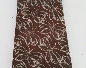 Vintage Wembley Butterfly Poly Tie