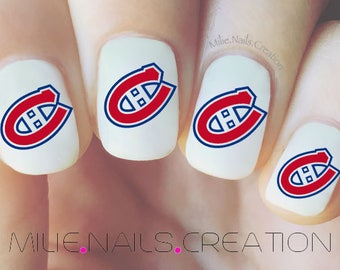 Blue jays nail decal canadiens de montral nail decal hockey team prinsesfo Image collections