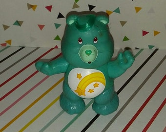 Vintage 1983 PVC Care Bears Figure (Wish Bear)