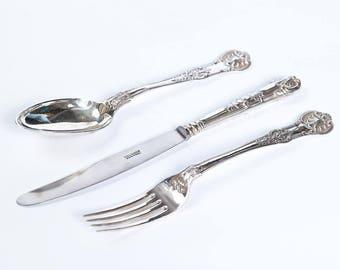 """Silver Flatware set """"Jeanette"""""""