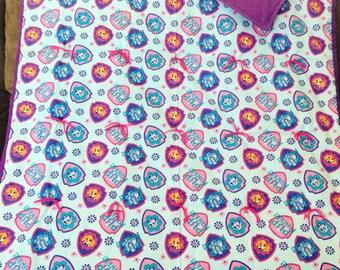 Paw patrol blanket for girls