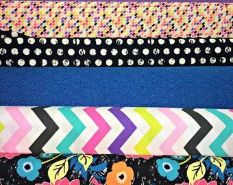 Dream in Color Fat Quarter Bundle - 6 prints