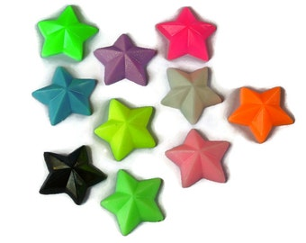 30 BULK MINI STAR Soaps - Star Soaps - Star Soap Set - Twinkle Twinkle Little Star Soap Favors - Baby Shower Favor - Party Favor - Handmade