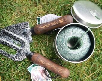 Personalised Gardeners Set - Fork, Trowel and Twine