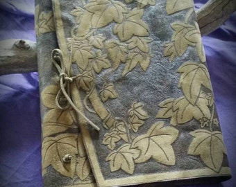 Handcrafted Leather Bound Book/BOS/Diary/Journal/Grimoire