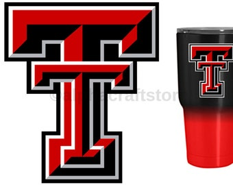 Texas Tech Yeti Etsy - Best vinyl for cups