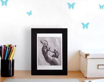 fantasy art illustration drawing art print,illlustration print,Artist print,illustration,surreal,fantastic illustration drawing