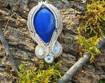 Lapis Lazuli x Moonstone x Aquamarine