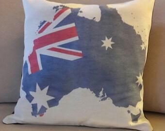 Avustralian national flag printed zippered pillowcase,national flag,pillowcase,