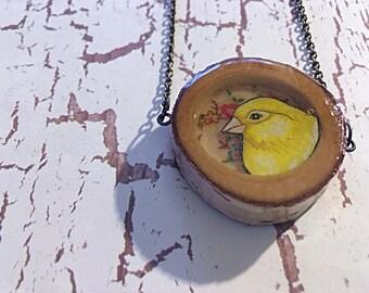 Canary Birch Necklace