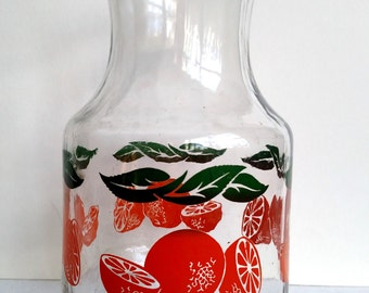 Orange Juice Carafe - Vintage