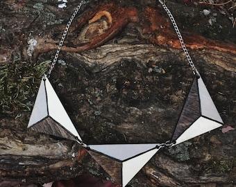 Geo Triad Necklace