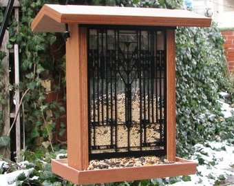 Frank Lloyd Wright - Darwin D. Martin House Bird Feeder - Terra Cotta Finish