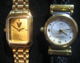 4  Beautiful Ladies Watches DMQ DIAMONIQUE, Montreux Jostens, Axcess, ROJE  New Battery's