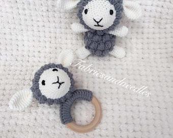 Amigurumi Little Sheep and Natural Teething