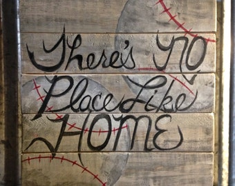 Shabby Chic Sign 'No Place Like Home'