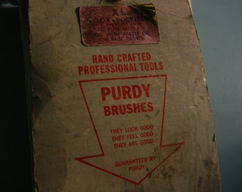 """Purdy Brush 3.5""""  Wooster Platinum and Pure Bristle"""