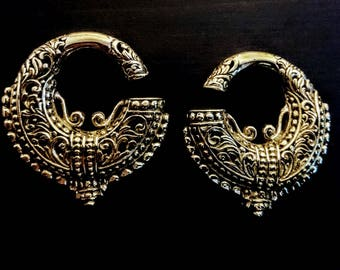 goddess tribal ear weights