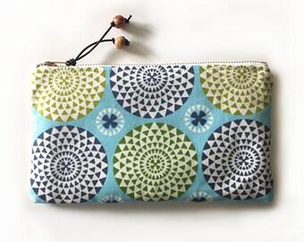 Spring Cosmetic Bag, Makeup Bag, Zipper Pouch