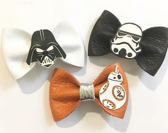 Starwars bow, darth vader bow, storm trooper bow, bb8 bow