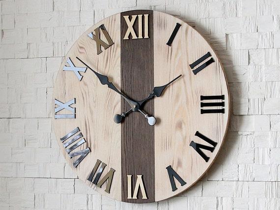 large wood wall clocks sale