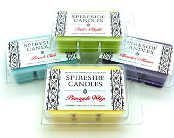 You Pick 4 Wax Tarts Sampler! - Spireside Candles - Disney Scents