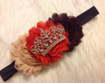 Disney Princess Moana Inspired Tiara Boutique Hair Accessory