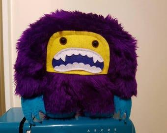 Purple Yeti Plush Toy Monster Plush