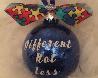 Autism Awareness Ornament, Christmas Ornament, Awareness Ornament, Autism Speaks, Asperger Ornament, ASD Ornament, Autism Awareness,