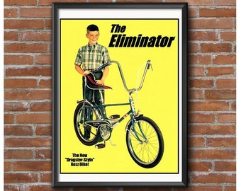 Eliminator Bicycle 1965 Poster
