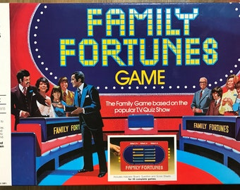 Vintage Family Fortunes Board Game - 1981 - MB Games - VGC