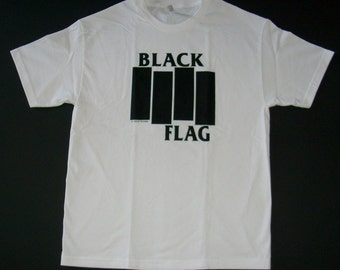 Brand New Black Flag Classic Bars Shirt Small, Medium, Large, and XL Free Same Day Shipping With A Tracking Number!