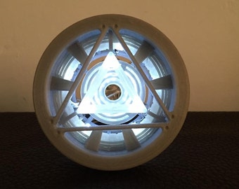 3D Printed Mark 5 Iron Man Arc Reactor Kit!
