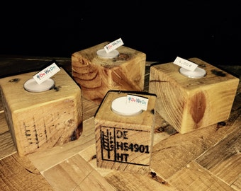 Euro pallets tea light