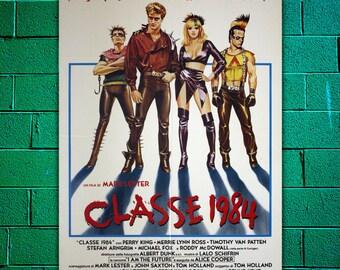 Original Movie Poster Class of 1984 - Michael J. Fox - Size: 100x140 CM