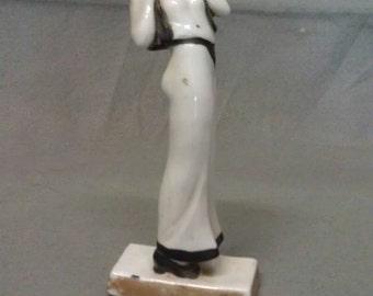 Vintage Lady Model Look Figurine