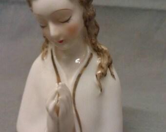 Religious Praying Figurine