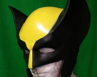 Wolverine Foam Helmet Templates for Cosplay Costume