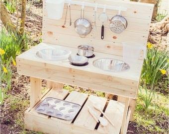 My MUD Kitchen - Outdoor Wooden Play Kitchen