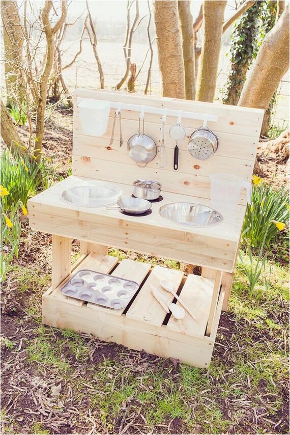 My Mud Kitchen Outdoor Wooden Play Kitchen
