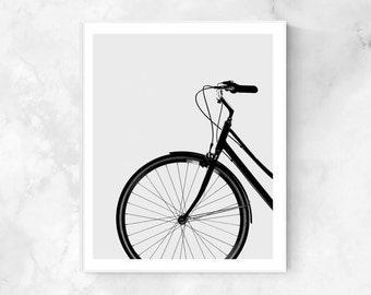 Bicycle print, Bicycle poster, Bicycle art, Bicycle display, Bicycle wall art, Scandinavian print, Home decor, Bicycle gift, Printable art