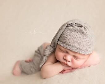 Newborn Pant and Sleepy Hat Set, Newborn Sleepy Hat, Newborn Pants, Newborn Photo Prop, Newborn Photography, Photo Prop, Boy Props