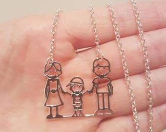 FAMILY NECKLACE 1 BIMBO